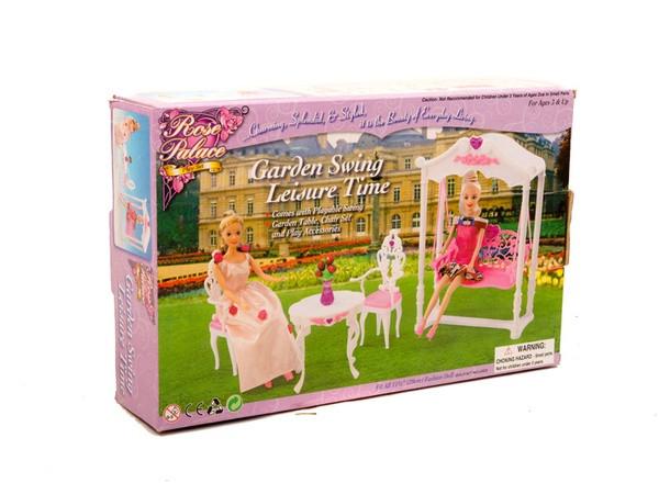 """Меблі """"Gloria"""" 2619 (36шт/3) для тераси,гойдалка,столик,2 стільці, в кор."""