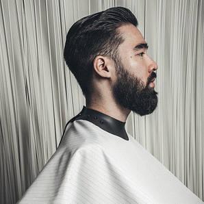 Накидка парикмахерская Neocape Unigown белая в полоску