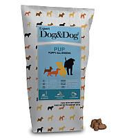 Корм GHEDA Dog&Dog Expert Pup для щенков всех пород, 20 кг