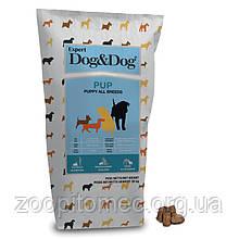 Корм GHEDA Dog&Dog Expert Pup для цуценят всіх порід, 20 кг