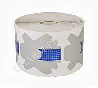 Формы для наращивания ногтей одноразовые в рулоне (500 шт.) Серо-голубые