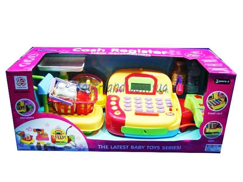 Кассовый аппарат LF996A (8шт/2) сканер, калькулятор,продукты, в кор. 48*20*19см