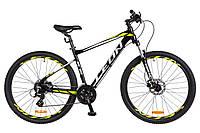 Велосипед 27.5-019  Leon XC-80 AM Hydraulic lock out 14G (18) чорно-салатовий з білим