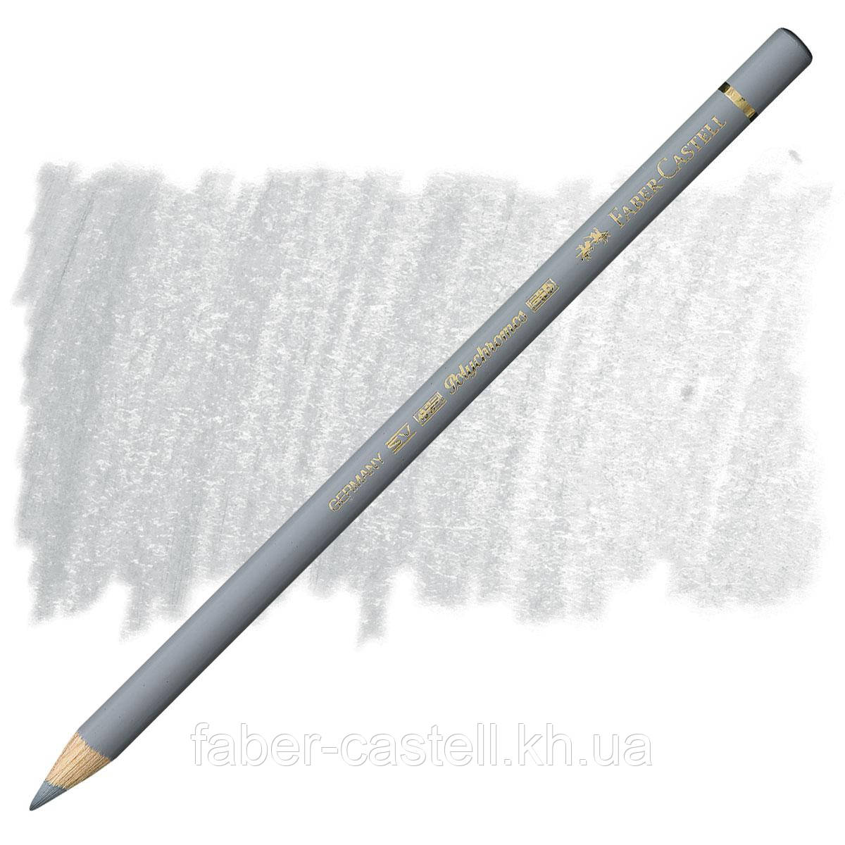 Карандаш цветной Faber-Castell POLYCHROMOS холодный серый Ill  №232 (Cold Gray lII), 110232