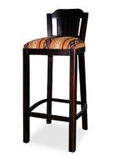 Барный деревяный стул со спинкой Кантри, фото 2