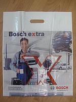 """Пакет """"Bosch"""" с усиленной ручкой и фото печатью."""
