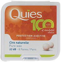 Восковые беруши Quies (8 пар)