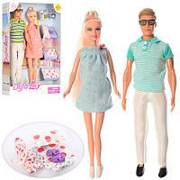Семья кукол DEFA 8349 с аксессуарами, аналог Барби