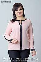 Нарядная блуза Два цвета ПЛ3-774 (р. 46-48), фото 1