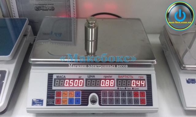 Весы торговые электронные ВТА-60/15-6-А (СИ)