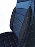 Чехлы на сиденья Ауди А4 Б5 (Audi A4 B5) (универсальные, кожзам, пилот СПОРТ), фото 8