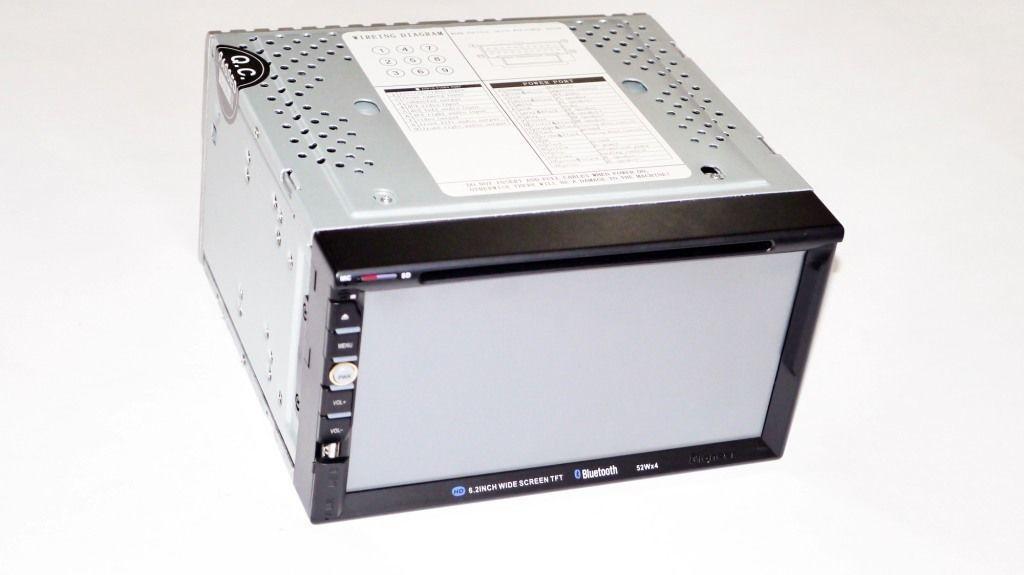 Автомагнитола 2din Pioneer 6910 GPS DVD USB SD TV сенсорный ЖК-дисплей GPS-навигатор