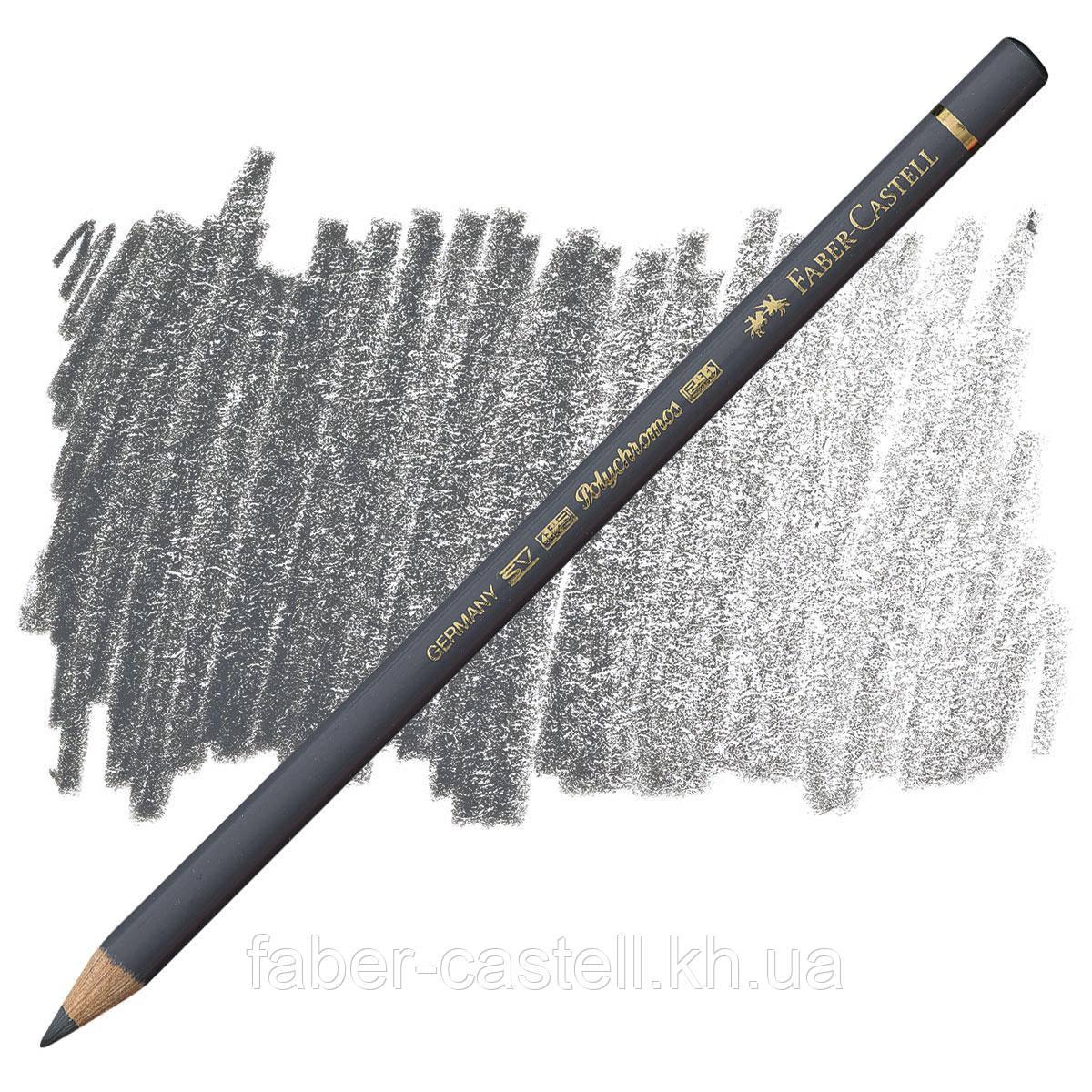 Карандаш цветной Faber-Castell POLYCHROMOS холодный серый V №234 (Cold Gray V), 110234