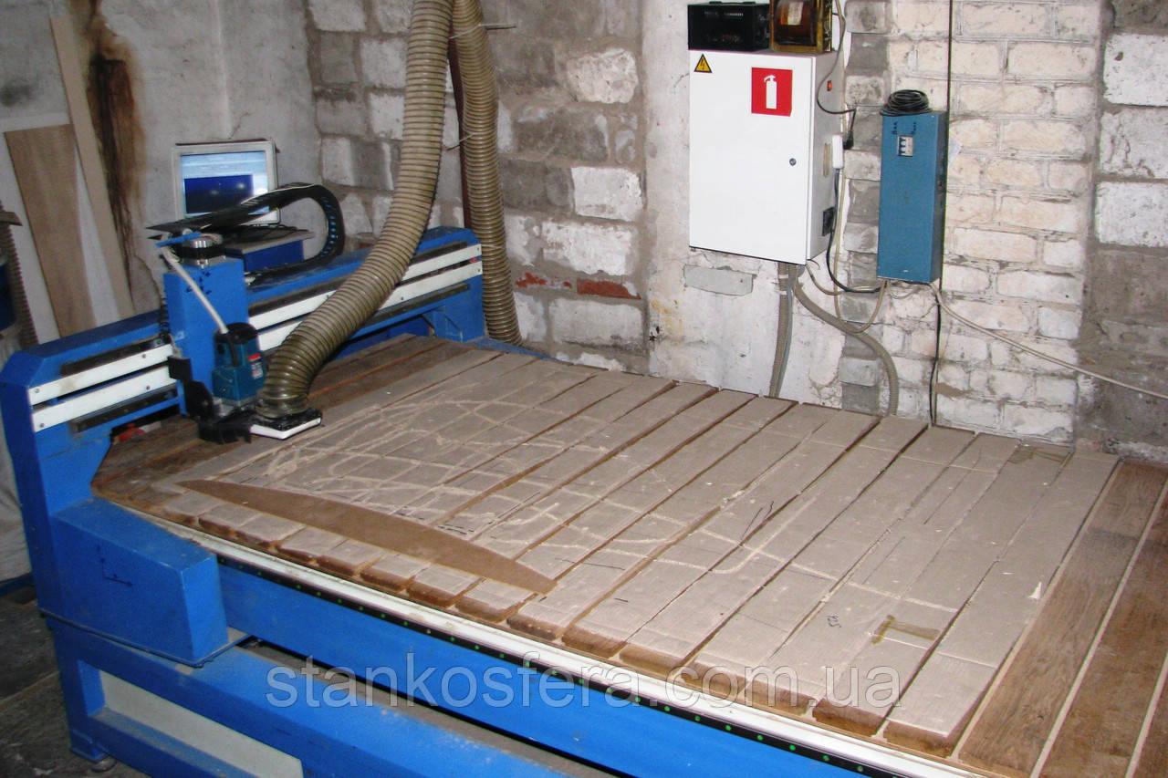 Фрезерный станок с ЧПУ ATS2112 бу 11г. для производства фасадов и деталей мебели