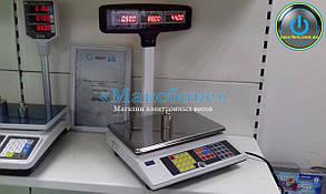 Весы торговые электронные ВТА-60/15-5D-Т