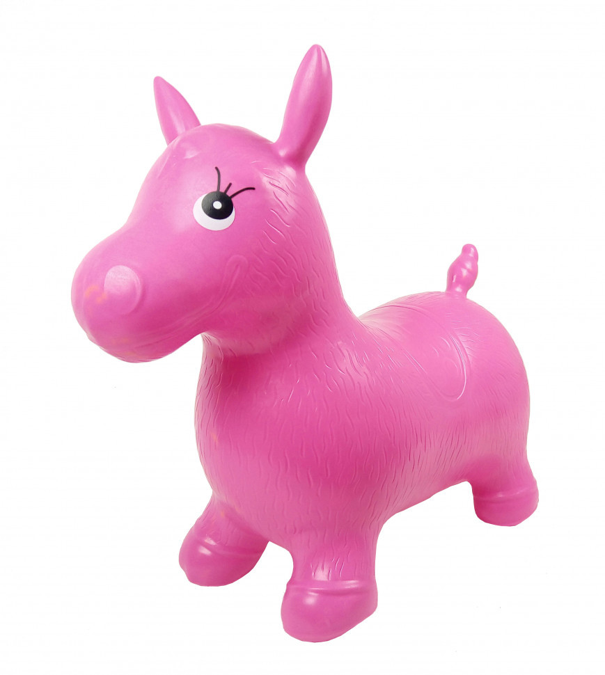 Прыгун-лошадка MS0737 (Розовый)