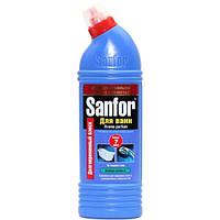 """Средство для чистки ванн """"Sanfor"""" Хвойная свежесть 750мл"""