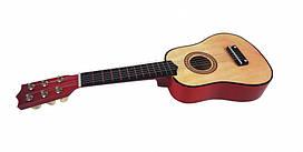 Гитара детская (M 1370) деревянная, цветанатурального дерева