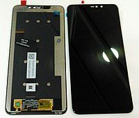 Дисплей (модуль) + тачскрин (сенсор) для Xiaomi Redmi Note 6 Pro (черный цвет)