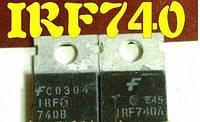 2004 Транзистор IRF740