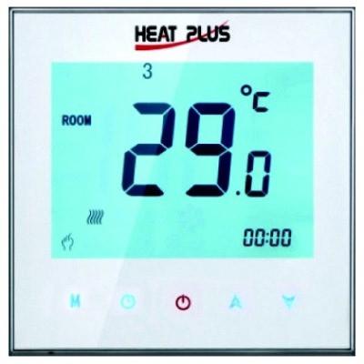 Сенсорный программируемый терморегулятор Heat Plus iTeo4 White