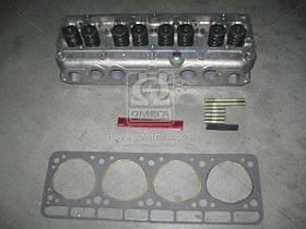 Головка блоку ГАЗ 2410,3302 дв.4021 (А-76) з клап.з прокл.і кріплення., фірм.упак. (пр-во ЗМЗ)