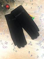 Зимние женские перчатки 001D
