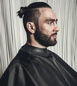 Пеньюар парикмахерский Neocape накидка-кейп, черный