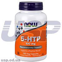 NOW 5-HTP 100 mg 5-гидрокси-триптофан улучшение памяти работы мозга от головной боли антидепрессант