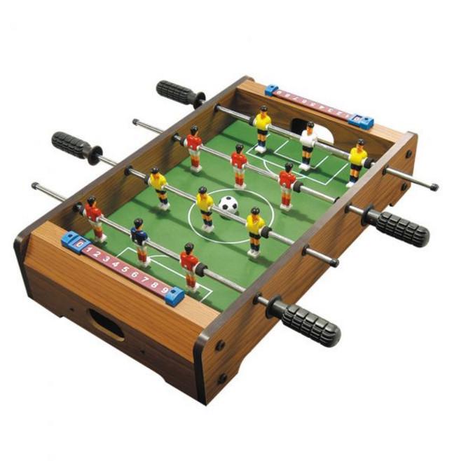 Футбол настольный HG 235A на штангах деревянный