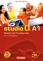 Studio d A1 Kurs- und Ubungsbuch mit Lerner CD
