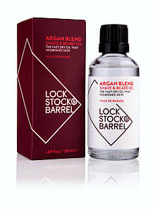 Lock Stock & Barrel универсалное арганова олія Argan blend shave oil 50ml