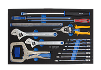 Набор инструментов в ложементе EVO 24 предмета KING TONY 9-91124MRV (Тайвань)