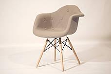 Кресло  Leon Soft шерсть , серый, фото 2