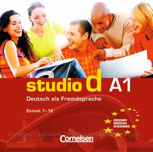 """Studio d A1 Teil 2 (7-12) CD - Интернет-магазин """"Иностранная Литература"""" в Киеве"""