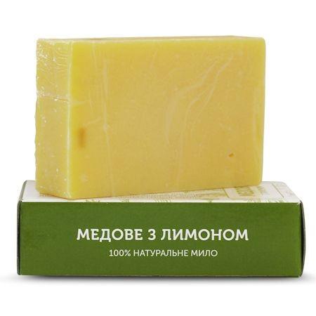 """Мыло ручной работы """"Медовое с лимоном"""" ЯКА, 75г"""