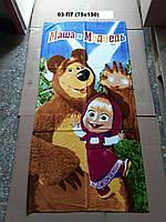 Полотенце пляжное детское Маша и Медведь