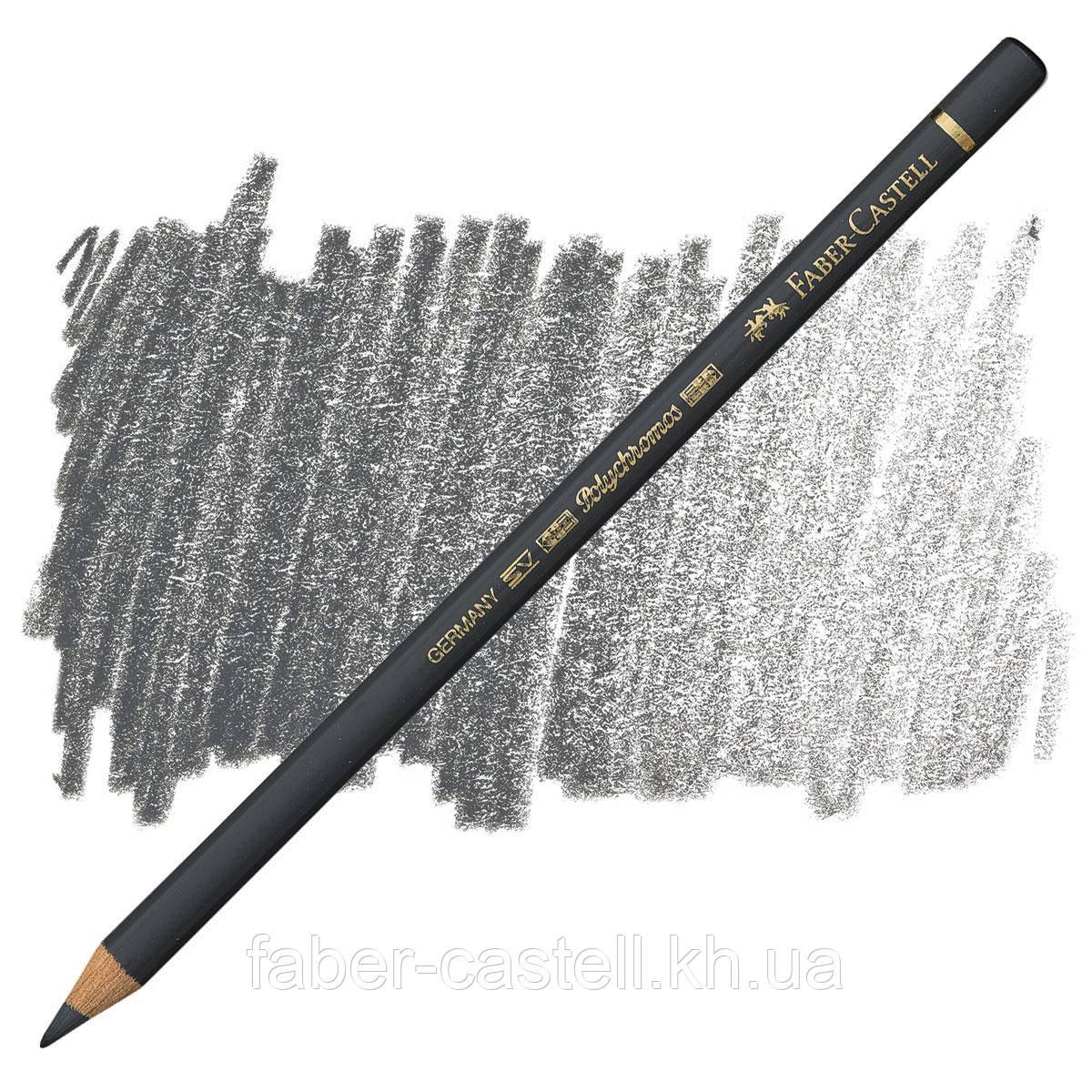 Карандаш цветной Faber-Castell POLYCHROMOS холодный серый Vl  №235 (Cold Gray Vl), 110235