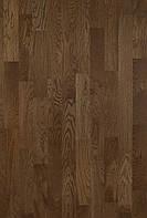 Паркетная доска Дуб Robust (Country) темно-коричневый 3-пол.