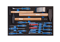 Набор инструментов в ложементе EVO 17 предмета KING TONY 9-91217MRV (Тайвань)