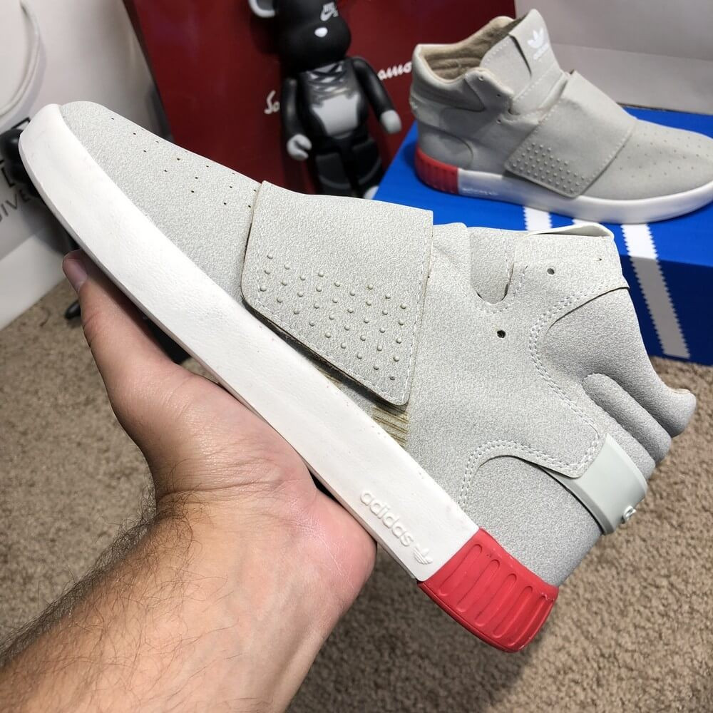 Adidas Tubular Invader Vapour Grey