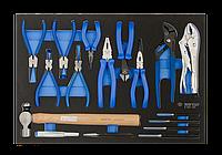 Набор инструментов губцевого в ложементе EVO 17 предметов KING TONY 9-90217GRV (Тайвань)