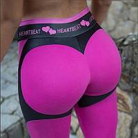 Женские спортивные лосины пуш-ап Heartbeat, фото 1