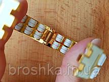 Литой широкий браслет ювелирная бижутерия, фото 2