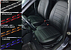 Чехлы на сиденья БМВ Е39 (BMW E39) (модельные, экокожа Аригон, отдельный подголовник), фото 9