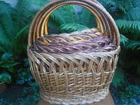 Плетеный набор корзин 5шт