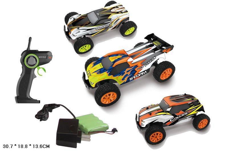 Машина акум р/у W3673/76/78GB (12шт) пульт на батар.,у кор 30,7*18,8*13,6 см