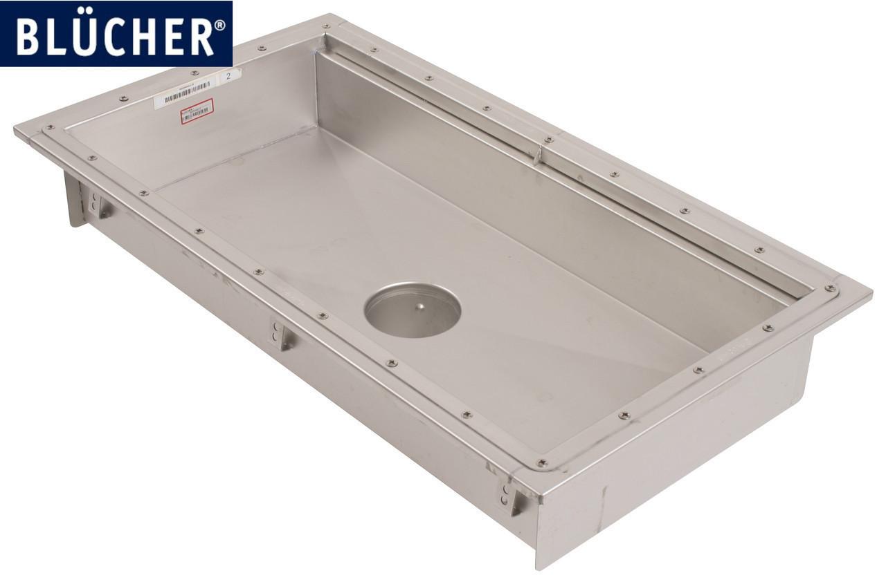 Кухонний канал BLUCHER з фланцем, нерж. сталь, 500x1000 мм, DN160, арт. 662GK010-15 для вінілової підлоги