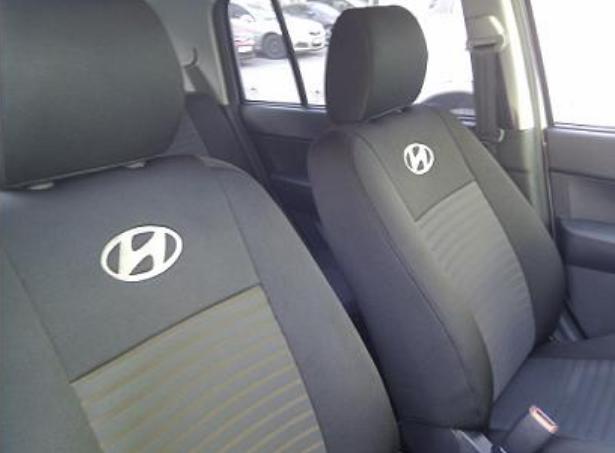 Чехлы на сиденья БМВ Е60 (BMW E60) (универсальные, автоткань, с отдельным подголовником)