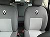 Чехлы на сиденья БМВ Е60 (BMW E60) (универсальные, автоткань, с отдельным подголовником), фото 3